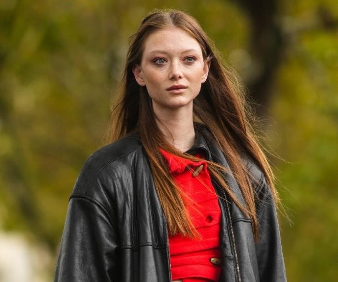 """**Sara Grace Wallerstedt** <br><br> Texan beauty Sara Grace is a force at every fashion show she walks—and there has been a few. <br><br>  At this Spring/Summer 2022 season alone, Sara Grace walked for Balmain, Blumarine, Chanel, Ferragamo, Fendi, Moschino and more.  <br><br> Her porcelain doll complexion is incredibly versatile and will be a fan favourite for years to come. <br><br>  *Follow Sara Grace on Instagram [@walldamort](https://www.instagram.com/walldamort/ target=""""_blank"""" rel=""""nofollow"""")*"""