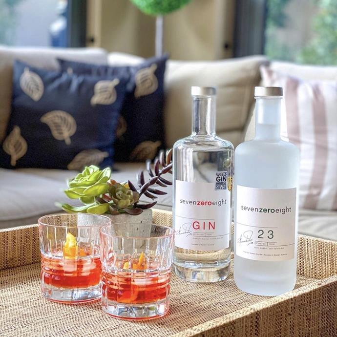 """***SevenZeroEight Gin*** <br><br>  Gin might not be the first thing that comes to mind when you think of Shane Warne, but after founding a very successful company dedicated to the spirit, he's definitely proven himself to be an expert. With global acclaim and three delicious bottles under the brands belt, the spirit is loved by many as a refreshing, summer treat. You need to try the SevenZeroEight 23%, which is the brands mid-strength, low-calorie option with hints of lemon and lime. It's perfect for people looking for a gin with a little less alcohol content but the same delicious taste.  <br><br>  **Shop at:** [First Choice Liquor](https://www.firstchoiceliquor.com.au/spirits/sevenzeroeight-23-700ml_4245451 target=""""_blank"""" rel=""""nofollow"""")"""