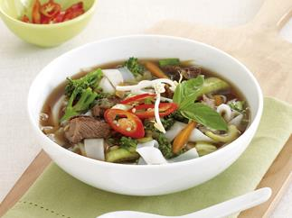 Lamb and Noodle Broth