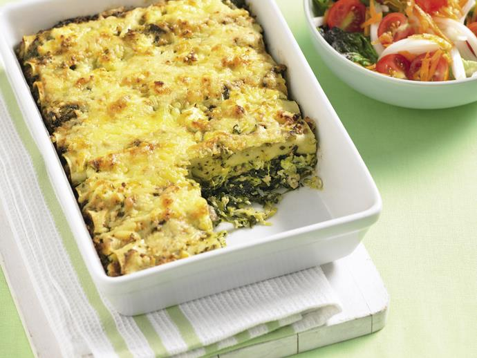 """**[Pesto chicken cannelloni](https://www.womensweeklyfood.com.au/recipes/pesto-chicken-cannelloni-7572