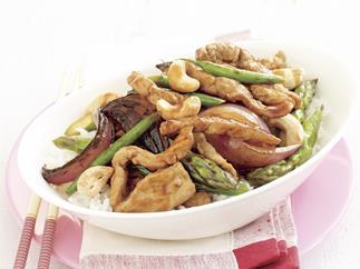 Pork and Cashew Stir-fry