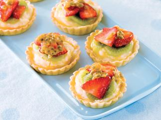Mini Fruit Flans
