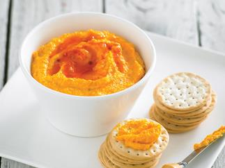 Carrot, Cashew and Sweet Chilli Dip