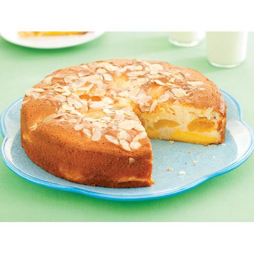 Apricot Custard Tea Cake Recipe Food To Love