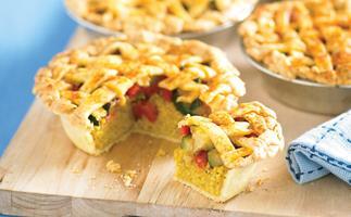Nutty Vegie Pie
