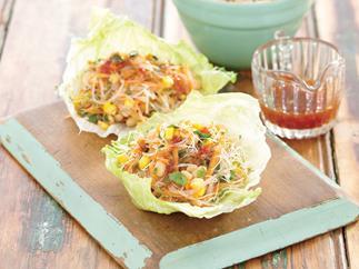 Vegetarian san choy bow