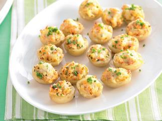 Stuffed Baby Potatoes