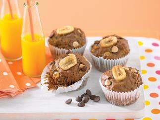 Choc Banana Muffins