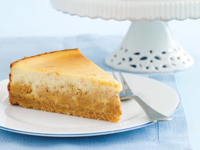 "**[Caramel cheesecake](https://www.womensweeklyfood.com.au/recipes/caramel-cheesecake-21872|target=""_blank"")**  There are many versions of this hugely popular dish, all equally tempting and delicious. But we think that there is something especially decadent about this cheesecake."