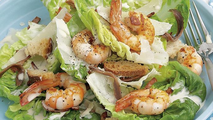 Prawn Caesar Salad
