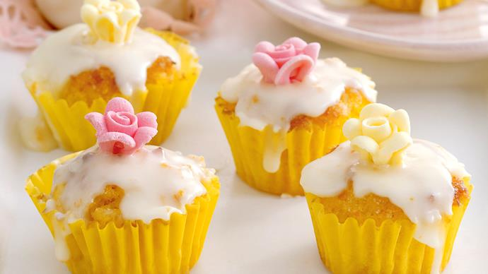 Mini Orange Polenta Cakes