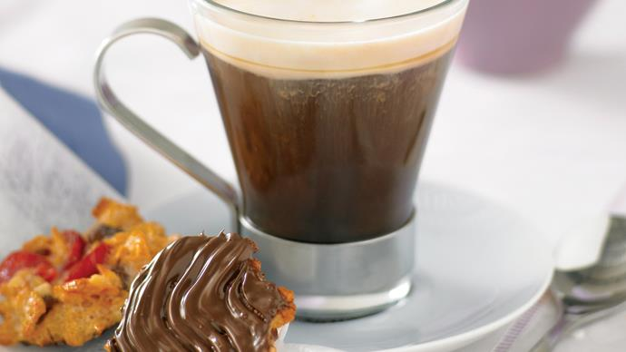 Irish Coffee with Florentines