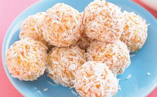 Apricot and Honey Balls