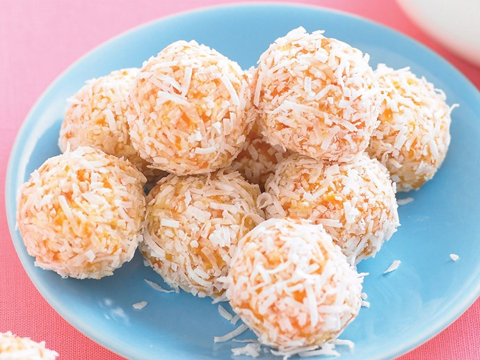 Apricot and Honey Balls