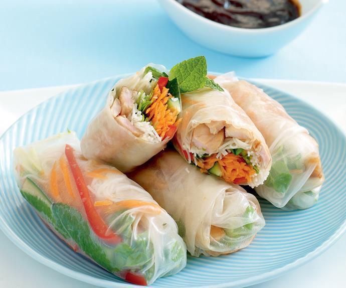 Lunch Specials - Pork Rice Paper Rolls