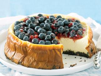 Luscious twist - Baked Ricotta Cheesecake