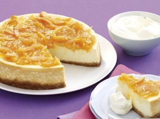 Marmalade - orange and ginger marmalade cheesecake