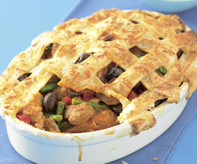 New - look faves - Chicken Cacciatore Pie