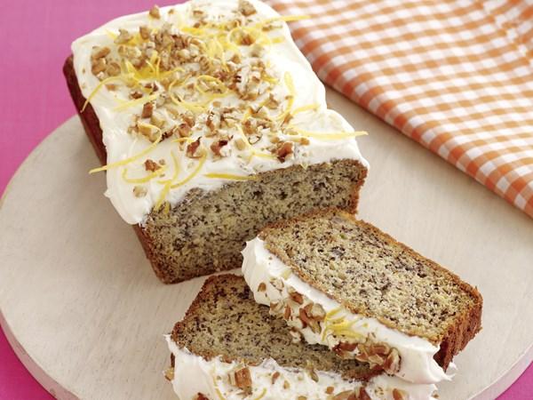 Loaf Recipes Using Cake Mix: Pecan Banana Loaf Recipe
