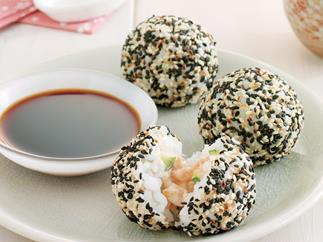 Orient express - Salmon Sushi Balls