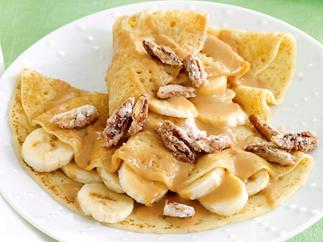 Pantry puddings - Banoffee crepes