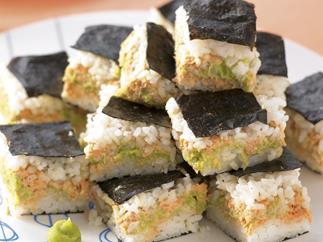 Party menu, for teens - Nori Slice