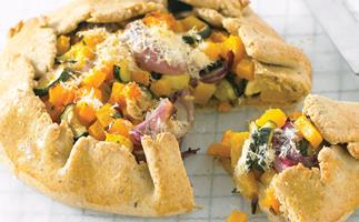 Pastries of plenty - Pumpkin, parmesan and sage pie