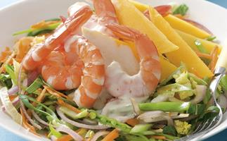 Quick picks - Prawn and Mango Salad