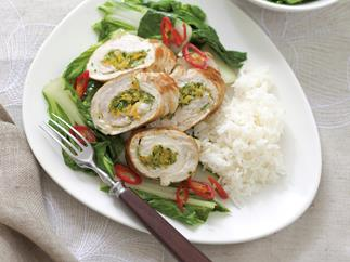 Ready steady cook - orange turkey with choy sum