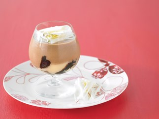 sheer delight - After dinner mint trifle