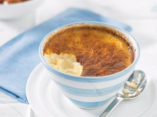 Small pleasures - Baked custard