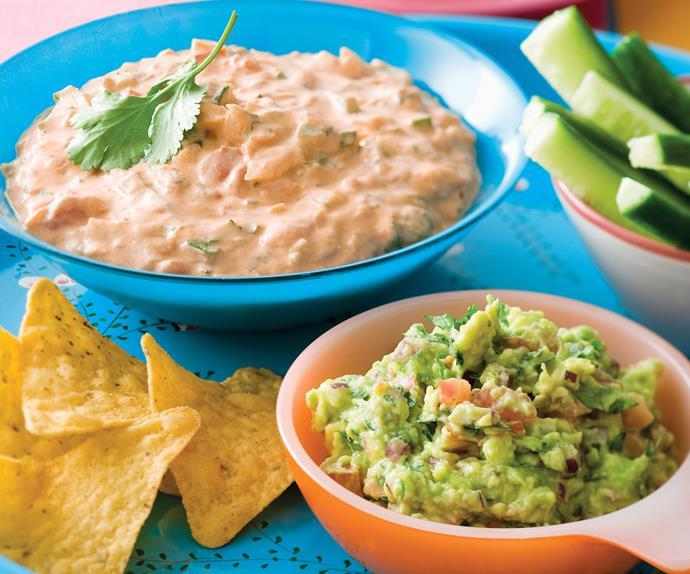 Spice up the party - chilli con Queso