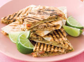 Spice up the party - Chilli Pork Quesadillas