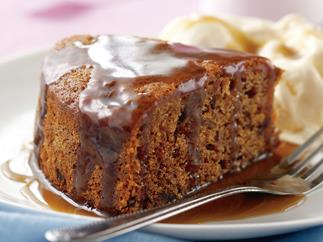 Sweet Success - Sticky date Pudding with caramel sauce