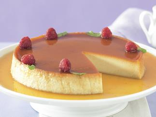 sweets toffee, Golden oldie - Baked coconut custard