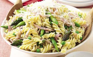 Ham and Pasta Caesar Salad