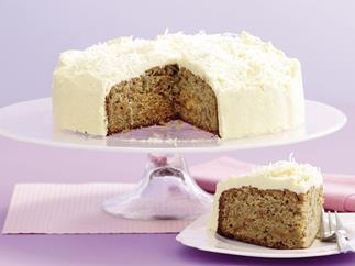 Carrot Cake with Coconut Buttercream