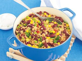 Tex-Mex Beans and Rice