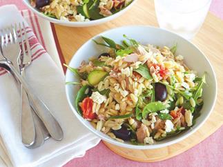 Warm Tuna and Risoni Salad