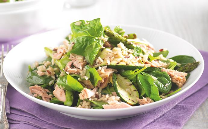 Char-grilled Vegie and Tuna Rice