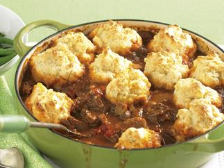 Beef Goulash with Cheese Dumplings