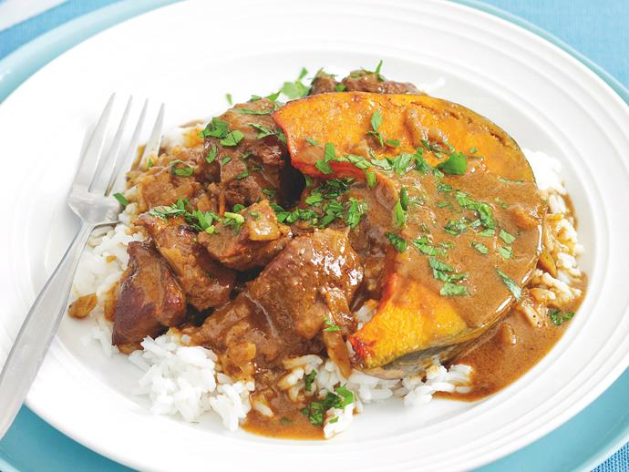 "**[Massaman lamb and pumpkin curry](https://www.womensweeklyfood.com.au/recipes/massaman-lamb-and-pumpkin-curry-20386|target=""_blank"")**"