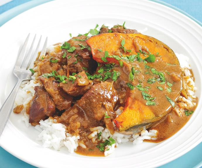 Massaman Lamb and Pumpkin Curry