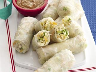 Loaded Rice Paper Rolls