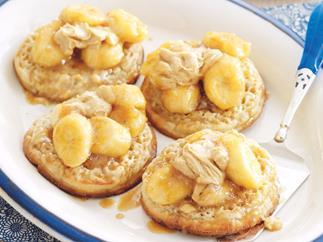 Banana Crumpets