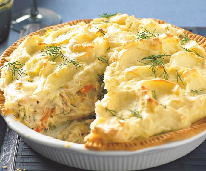 Make-ahead pies - Tuna shepherd's pie