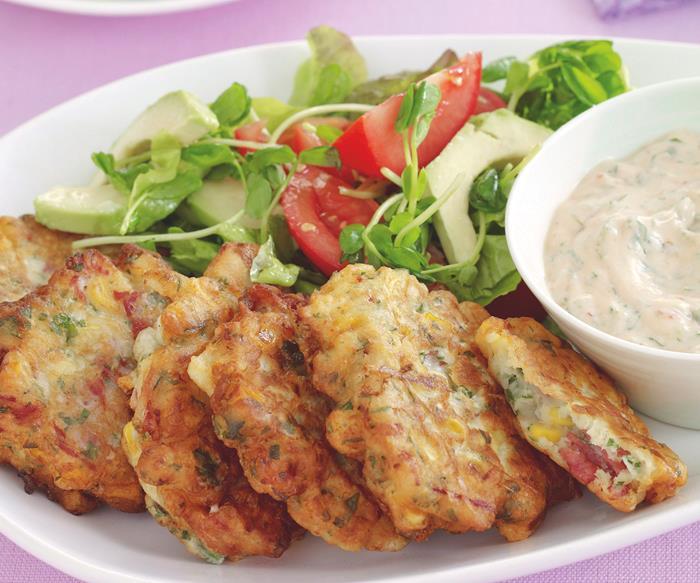 Meal planner september, Budget meals - Silverside fritters