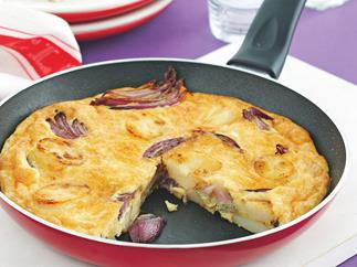 Cheesy Spanish Omelet