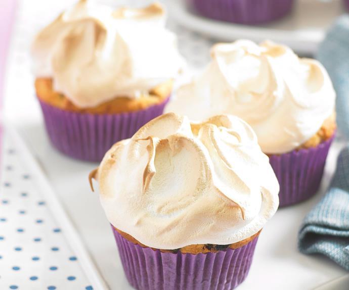 Pineapple Meringue Muffins