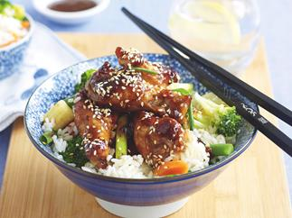 Hoisin Chicken with Vegie Rice